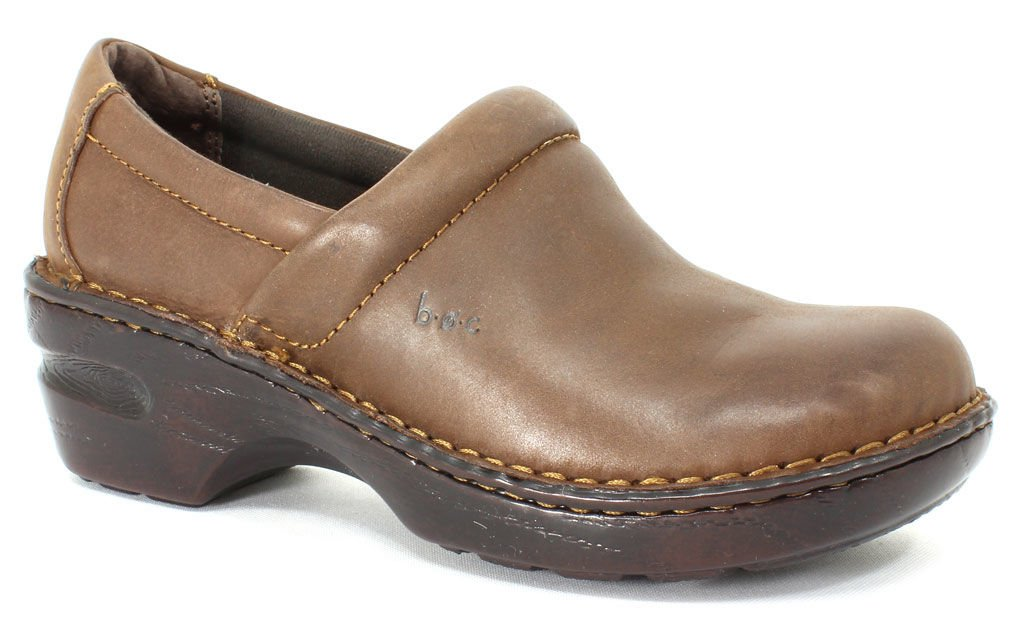 B.O.C. by Born Women's Peggy Chocolate Oiled 9.5 M Women's