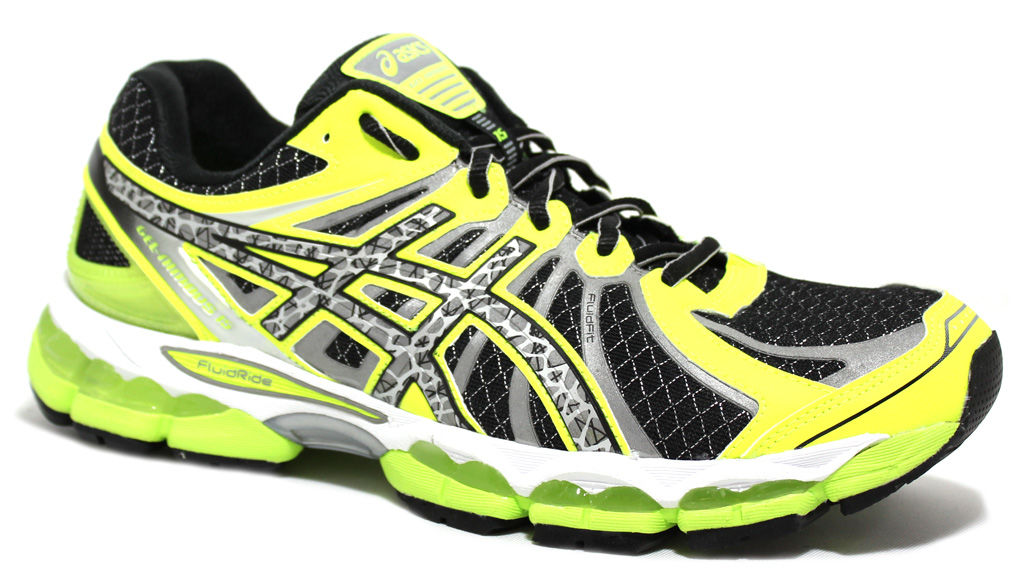 Asics Men's Nimbus 15 Lite Show Black/Lime