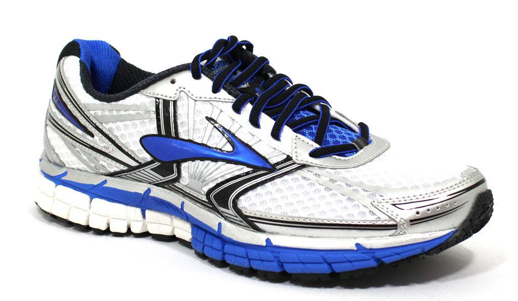 Brooks Men's White Electric Blue