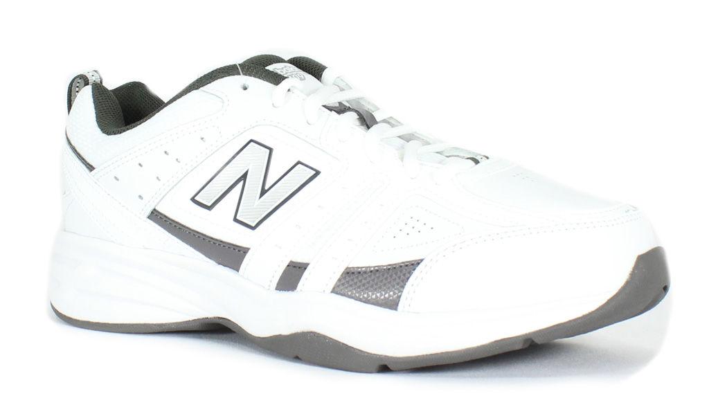 New Balance Men's MX409WG2 White-Grey 10.5 4E Men's