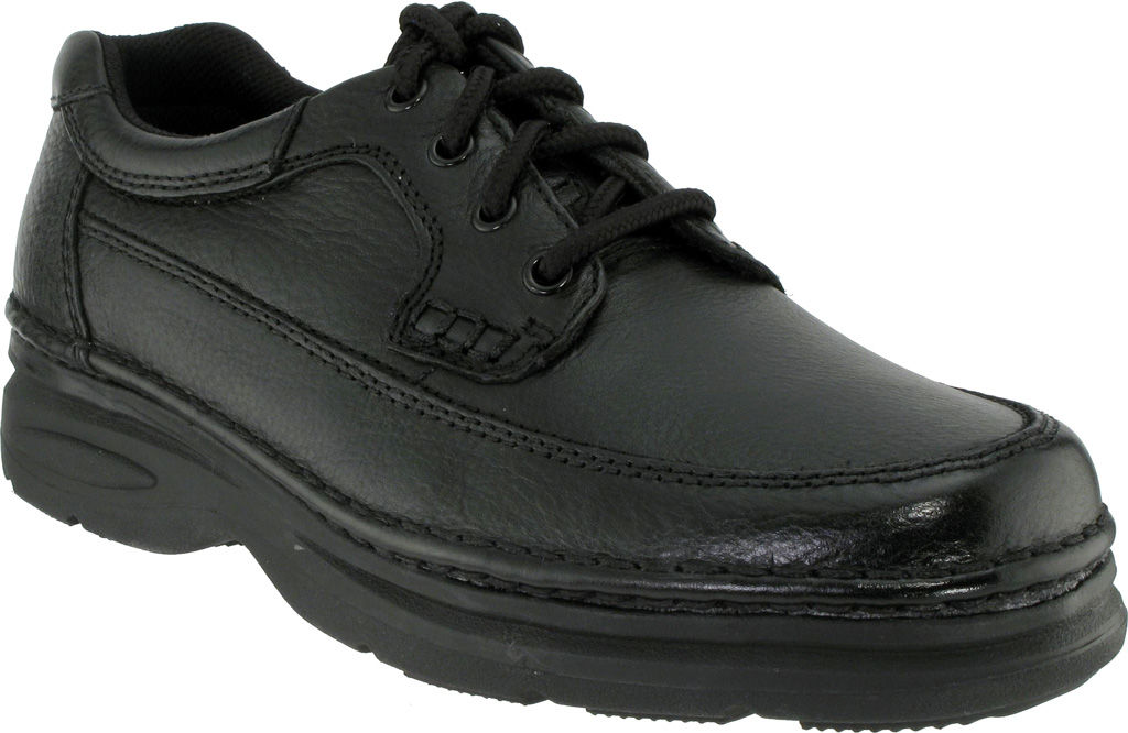 Nunn Bush Cameron Black Walking Shoe 12 W Men's