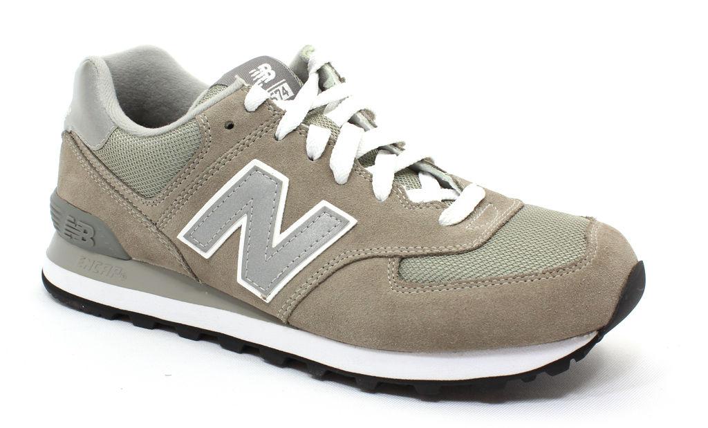 New Balance Men's M574GS Grey 10.5 2E Men's