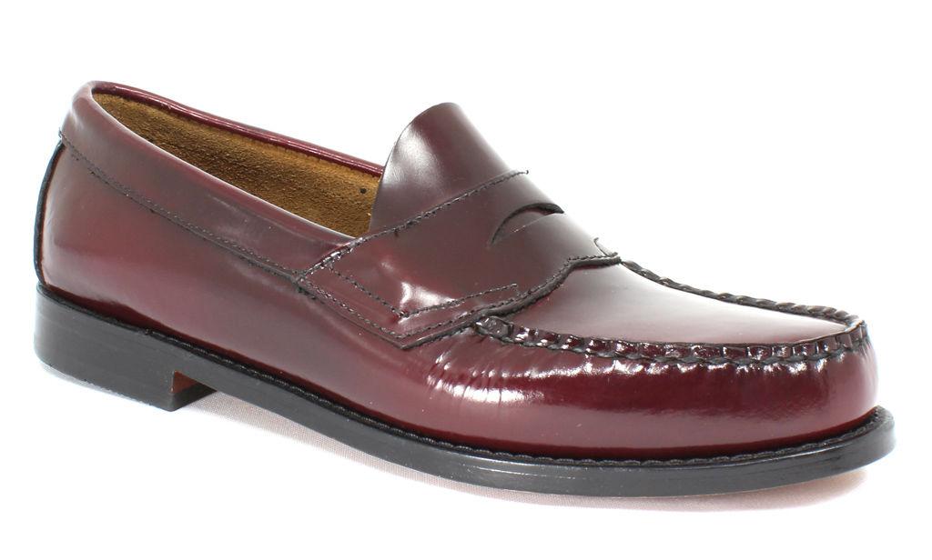 Bass Men's Logan Burgundy - 7 3e Men's By Houser Shoes