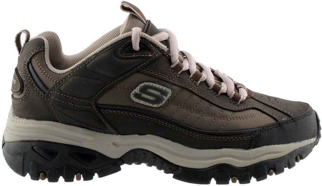 Skechers Men's Energy Downforce Brown Taupe 11 EW Men's