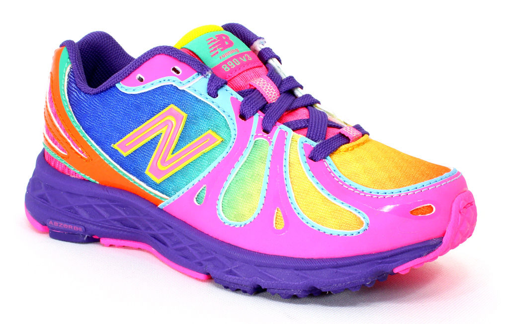 New Balance Kids Rainbow KJ890GRP Multi 10.5 M little kid