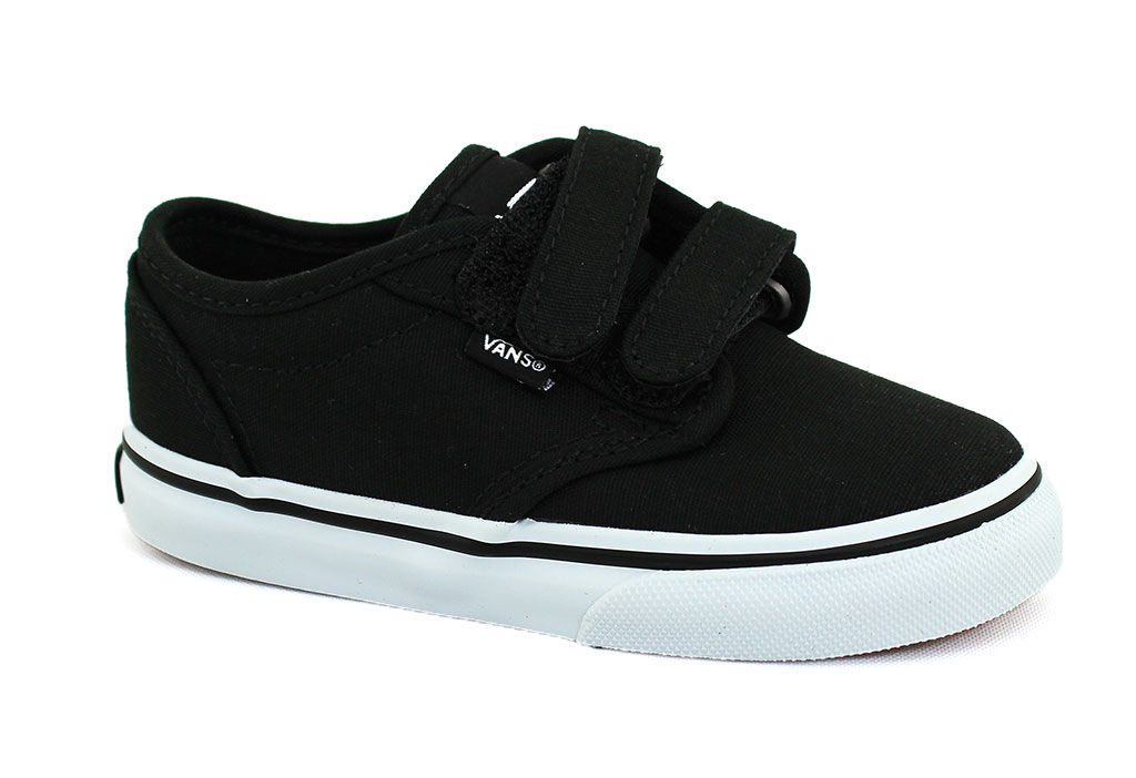 Vans Toddler's Atwood Black And White - 10 M Toddler By H...