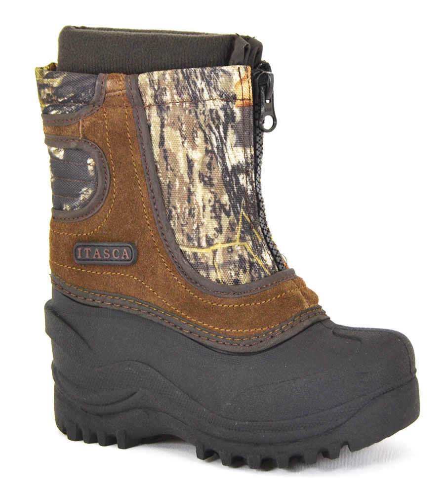 Itasca Boys Snow Stomper Camo - 1 M Little Kid By Houser ...