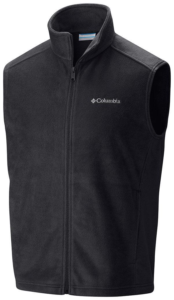 Columbia Men's Steens Mountain Fleece Vest Black - S By H...