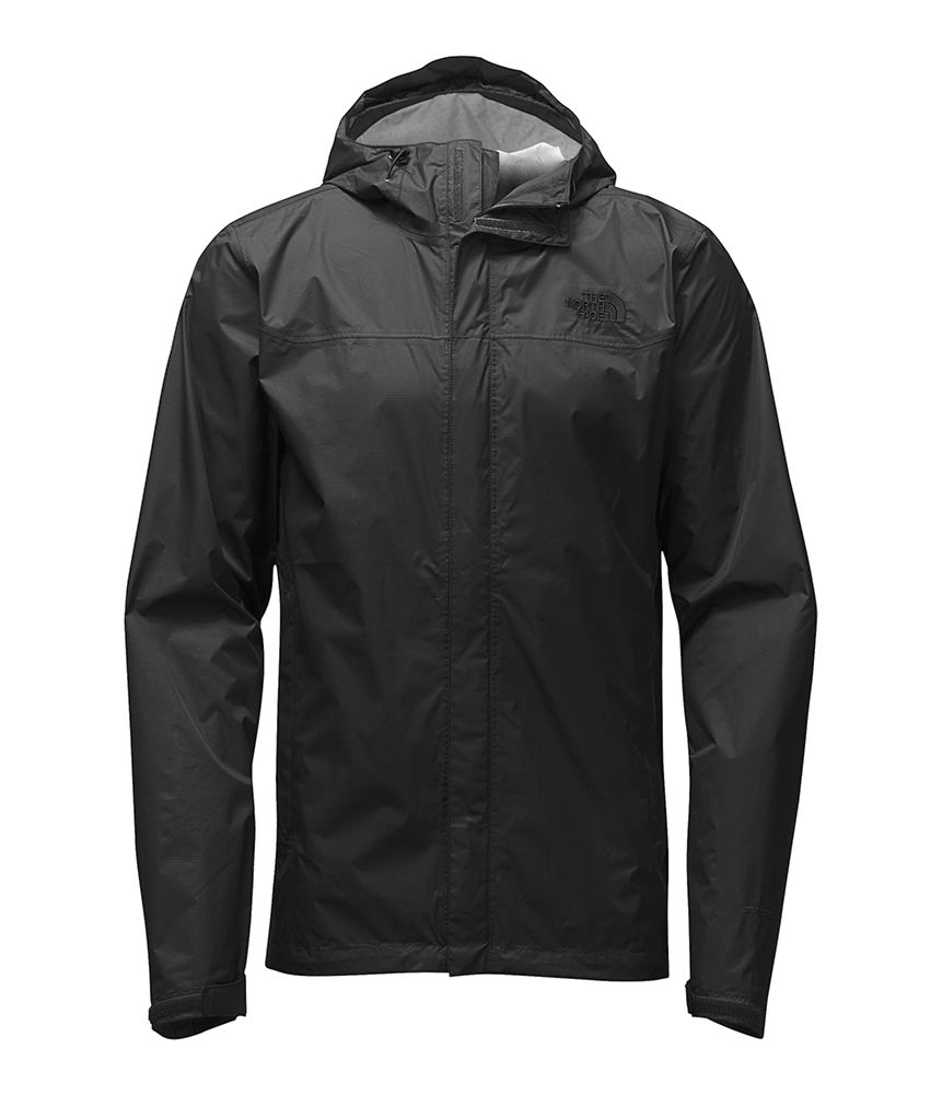 North Face Men's Venture Jacket Tall Black - L By Houser ...