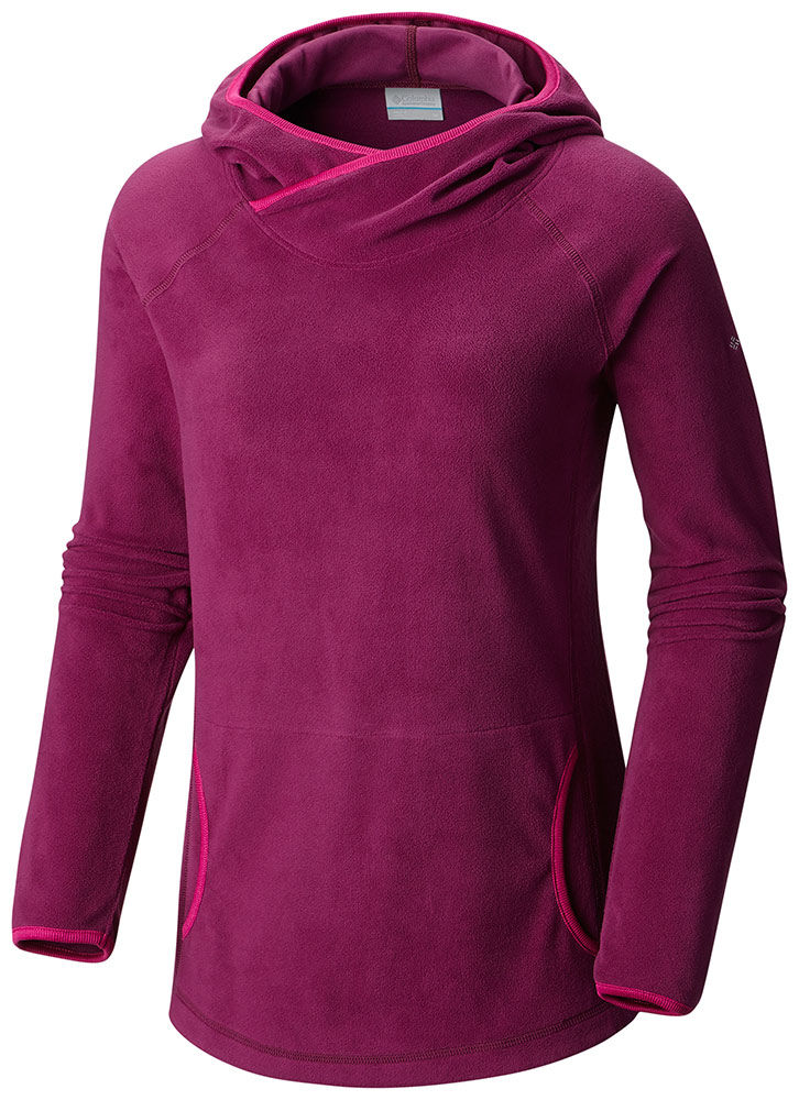 Columbia Women's Glacial Fleece 4 Hoodie Dark Raspberry -...