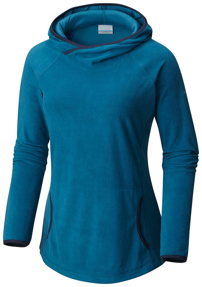 Columbia Women's Glacial Fleece 4 Hoodie Phoenix Blue - M...