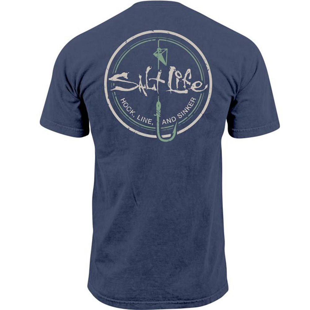 Salt Life The Sinker T-shirt Baltic Blue - M By Houser Shoes