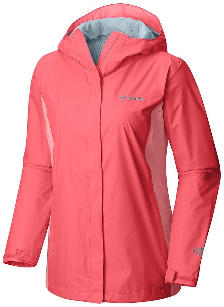 Columbia Women's Arcadia 2 Rain Jacket Blush Pink - M By ...