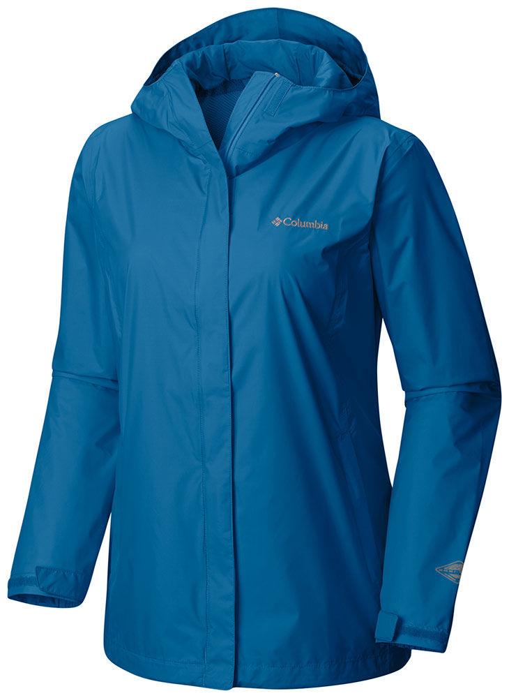 Columbia Women's Arcadia 2 Rain Jacket Dark Cyan - M By H...