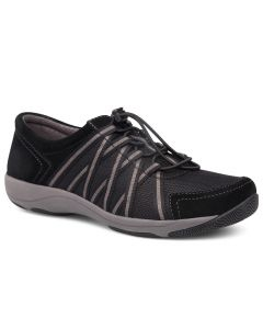 Dansko Women's Honor Wide Black Black Suede