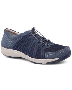 Dansko Women's Honor Wide Blue Suede Leather
