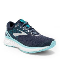 Brooks Women's Ghost 11 Navy Grey Blue