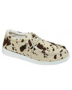 Outwoods Women's Walk 1 Beige Cow