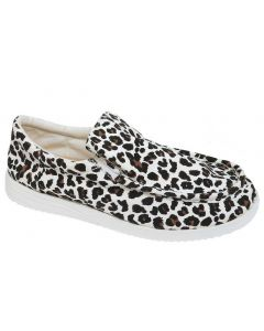 Outwoods Women's Walk 3 Grey Leopard