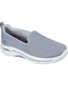 Skechers Women's Go Walk Arch Fit Grateful Grey Lavender