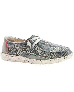 Hey Dude Women's Wendy Jungle Cheetah Grey