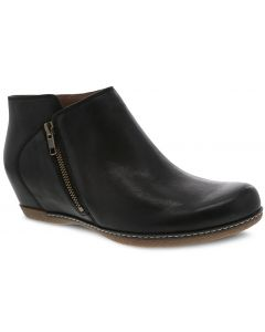 Dansko Women's Leyla Black Burnished Nubuck