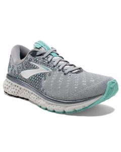 Brooks Women's Glycerin 17 Grey Aqua Ebony