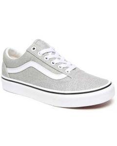 Vans Women's Old Skool Silver White