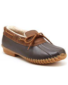JBU Women's Gwen Duck Shoe Brown