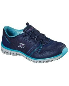Skechers Women's Glide Step Act Nice Navy Blue