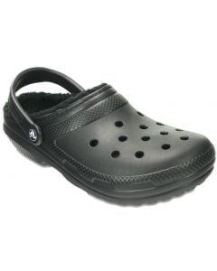Crocs Women's Classic Fuzz Lined Clog Black