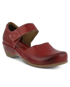 L'Artiste by Spring Step Women's Gloss Mary Jane Red
