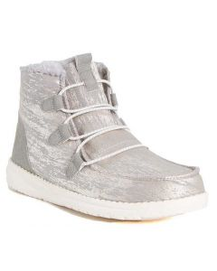 Hey Dude Women's Lea Fur Fur Grey