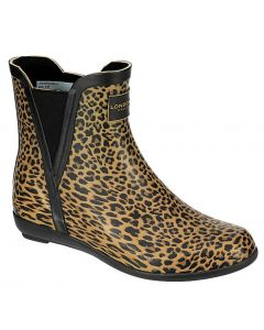 London Fog Women's Piccadilly Rainboot Leopard