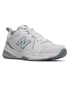 New Balance Women's WX608v5 White-Light Blue