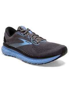 Brooks Women's Glycerin 18 Black Ebony Cornflower