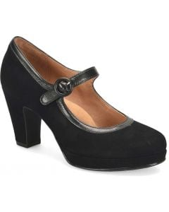 Sofft Women's Grayling Black Suede