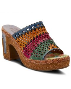 L'Artiste Women's Guyas Blue Multi