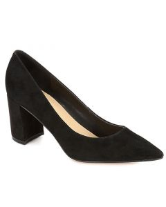 Marc Fisher Women's Claire Black Suede