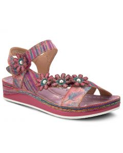 L'Artiste Women's Mahvash Purple Multi