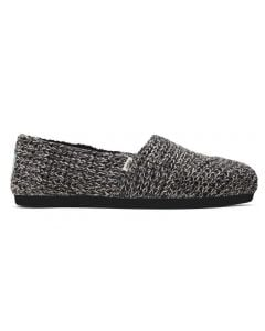 TOMS Women's Alpargata Ribbed Sweater Black Multi