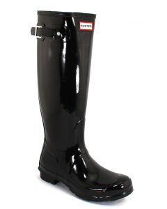 Hunter Boots Women's Original Tall Gloss Black