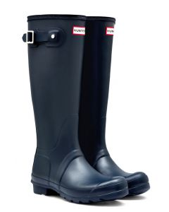 Hunter Boots Women's Original Tall Matte Navy