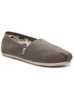Toms Women's Alpargata Flat Grey