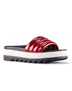Cougar Women's Prato Slide Red Patent