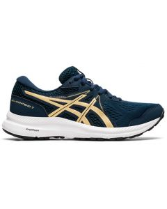 Asics Women's Contend 7 French Blue Champagne