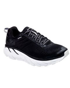 Hoka One One Women's Clifton 6 BLACK   WHITE