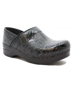 Dansko Women's Professional Black Tooled