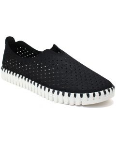 Ilse Jacobsen Women's Woven Flat Black