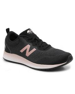 New Balance Women's Fresh Foam Arishi v3 Lead with Black & Peach Soda